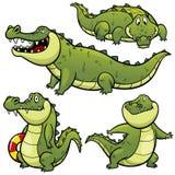 Крокодил шаржа иллюстрация вектора