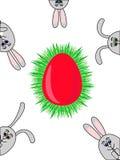кролики пасхи Стоковое фото RF