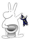 кролик волшебника бесплатная иллюстрация