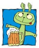 кролик кружки пива запойный бесплатная иллюстрация