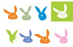 кролик логоса иллюстрация вектора