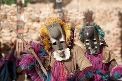 кролик маски Мали dogon танцульки стоковые фото