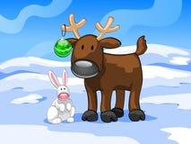 кролик оленей Стоковые Фотографии RF