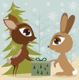 кролик оленей Стоковая Фотография