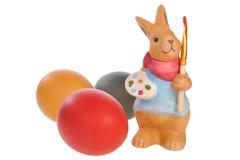 кролик пасхального яйца Стоковая Фотография