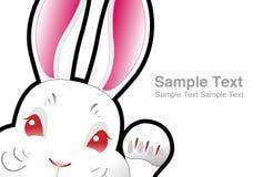 кролик пасхи зайчика Стоковое фото RF