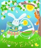 кролик пасхи Стоковые Фотографии RF