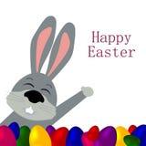 Кролик с яичками Стоковое фото RF