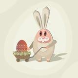 кролик 06 Иллюстрация вектора
