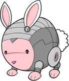 кролик cyborg зайчика Стоковые Изображения