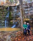 Кроме Twin Falls Стоковое Изображение