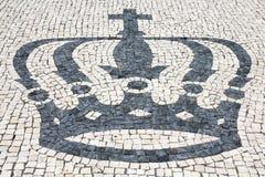 крона булыжников Стоковое фото RF
