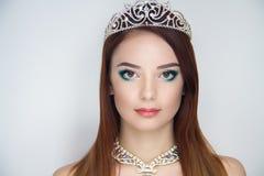 Крона женщины серебряная Стоковое Изображение RF