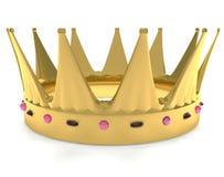 крона золотистая Стоковое Изображение