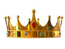 крона золотистая Стоковая Фотография