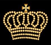 крона золотистая Стоковые Изображения