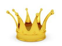 Крона золота Стоковое Изображение RF