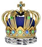 крона королевская стоковые изображения