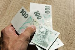 300 крон Стоковая Фотография RF