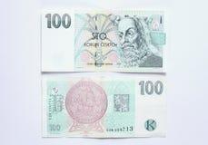 100 крон Стоковое Изображение