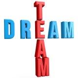 Кроссворды команды мечты Стоковые Изображения RF