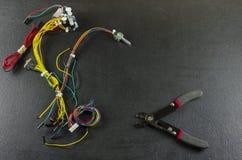 Кроссовые провода Стоковое фото RF