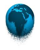 Кроша глобус Стоковые Фото
