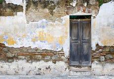 кроша стена Стоковое Фото