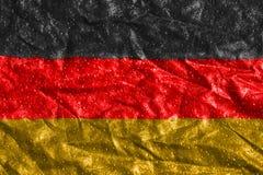 Крошенный флаг Германия Стоковое фото RF