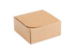 Крошечная картонная коробка Стоковое Изображение