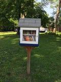 Крошечная коробка lending библиотеки общины Стоковое Изображение RF