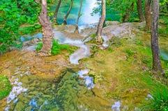 Крошечное падение в лес, Kursunlu, Aksu, Турция Стоковое Изображение RF