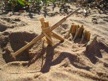 Крошечное Trebuchet Стоковая Фотография RF