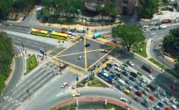 Крошечный Куала-Лумпур Стоковое фото RF