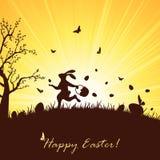 кролик пасхи Стоковые Фото