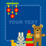 кролик подарка поздравительой открытки ко дню рождения бесплатная иллюстрация