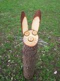 Кролик сделанный от древесины Стоковая Фотография RF