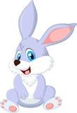 кролик шаржа милый Стоковое Изображение