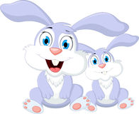 Кролик шаржа для вас дизайн Стоковые Фото