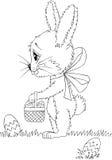 Кролик шаржа Стоковая Фотография