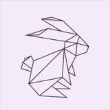 Кролик Origami Стоковые Фотографии RF