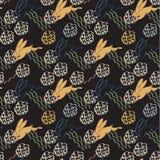 Кролик Runnig - безшовная картина Стоковое Изображение