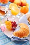 круасант завтрака Стоковое Изображение