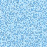 Круги абстрактной безшовной картины малые голубые текстурируют предпосылку бесплатная иллюстрация