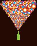 круги бутылки Стоковая Фотография RF