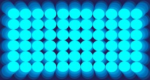 Круги градиента предпосылки конспекта голубые иллюстрация штока