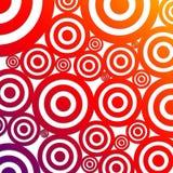 круги предпосылки иллюстрация вектора