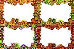круги предпосылки Стоковая Фотография RF