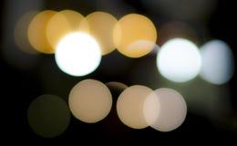 Круги света, абстрактные Стоковая Фотография RF
