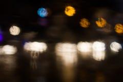 Круги светлого конспекта Стоковые Изображения RF
